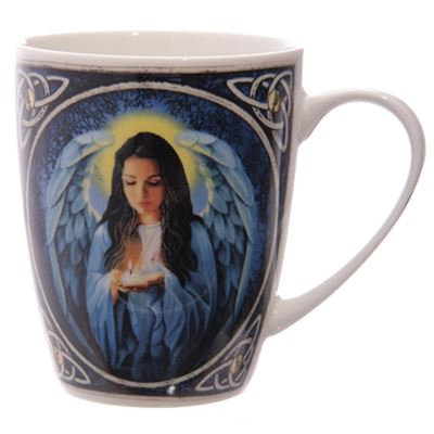 Angel Bone China Mug by Lisa Parker